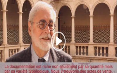 Jesús Alturo : « La richesse documentaire est très grande dans les archives ecclésiastiques, mais aussi dans les archives publiques. On trouve des documents même dans les maisons particulières »