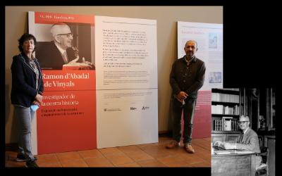 CATCAR visite l'exposition « Ramon d'Abadal i de Vinyals. Investigador de la nostra història »