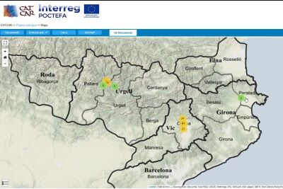 El mapa digital de la Catalunya carolíngia