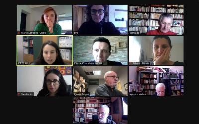 Nouvelle réunion virtuelle de l'équipe de CATCAR