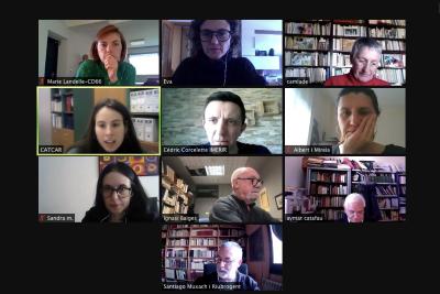 Nova reunió virtual de l'equip de CATCAR