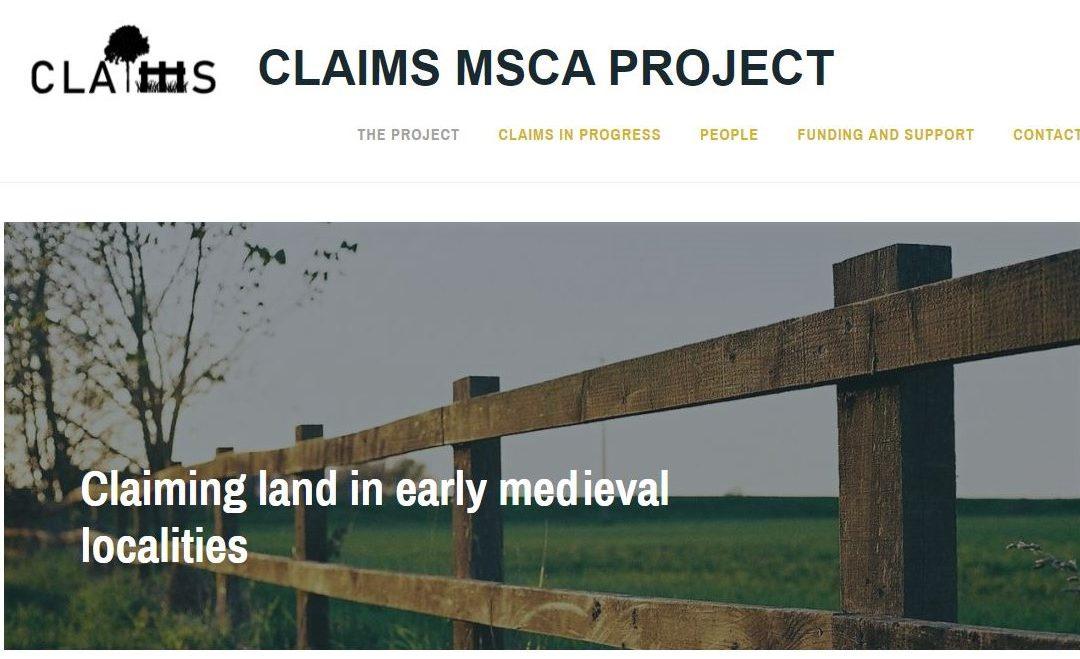 CLAIMS, un projet européen sur la réclamation de terres pendant le Haut Moyen Âge
