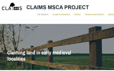 CLAIMS, un projecte europeu sobre la reclamació de terres durant l'alta edat mitjana