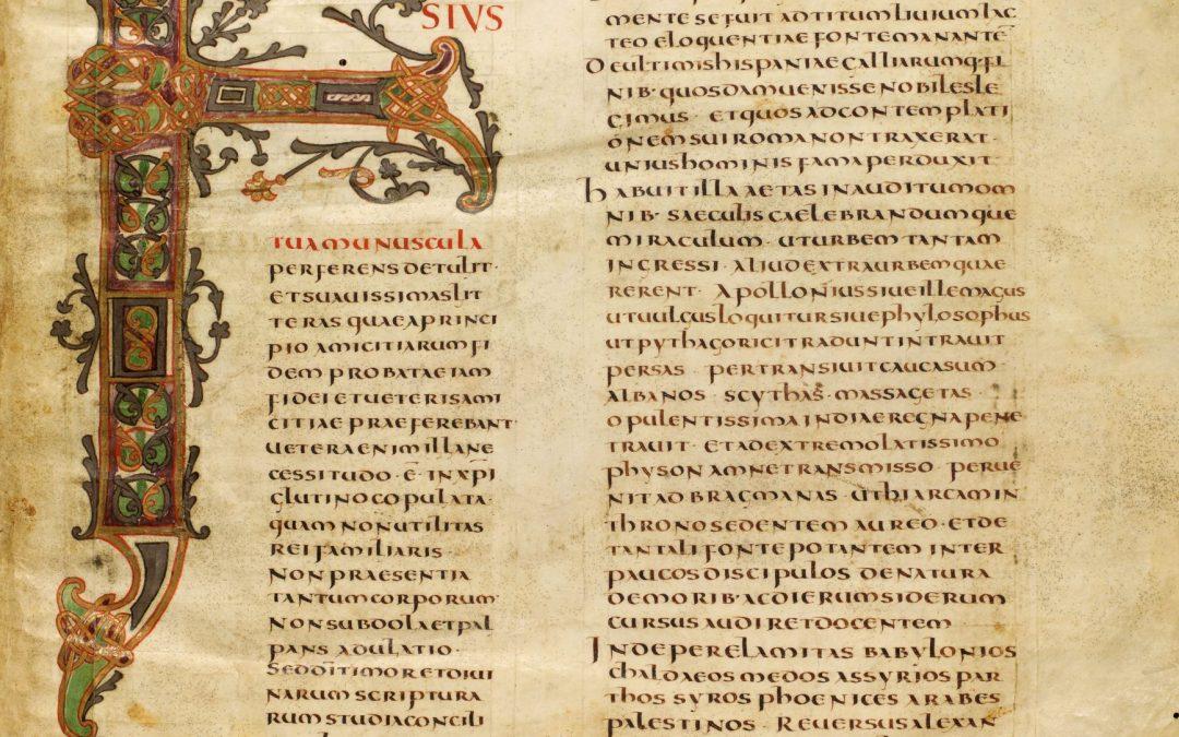 Qu'est-ce que nous savons sur l'écriture au temps des carolingiens ?