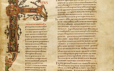 Què en sabem de l'escriptura en temps dels carolingis?