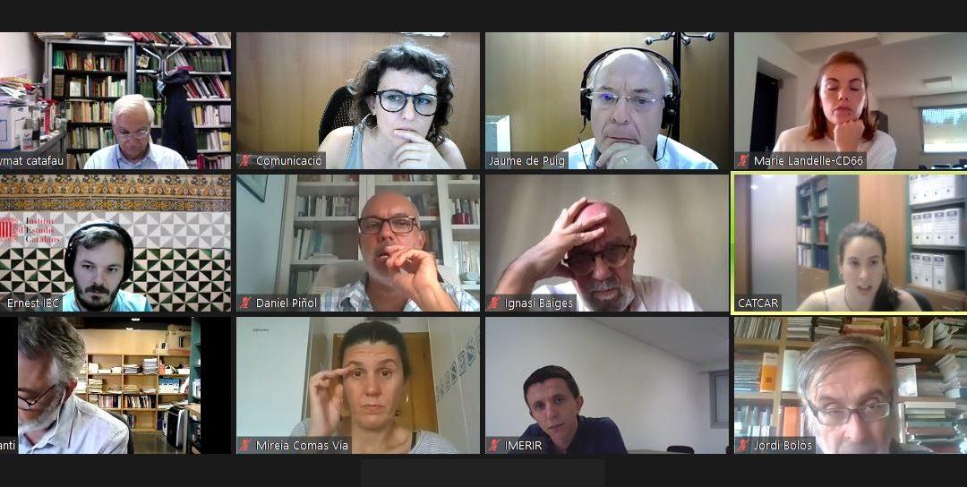 CATCAR reprend le cours avec une nouvelle réunion virtuelle