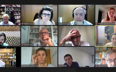 CATCAR enceta el curs amb una nova reunió virtual